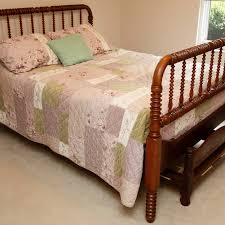 jenny lind double bed with trundle ebth