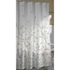 Dragonfly Shower Curtains Dragonfly Garden Fabric Shower Curtain Walmart