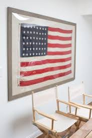 flag decorations for home this weathered wood frame naturalist woods