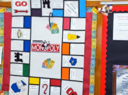 creative teaching ideas magnetic homework interactive monopoly board