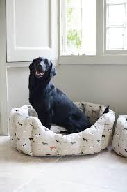 Covered Dog Bed Sophie Allport Medium Woof Dog Bed