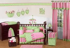 Pink And Green Crib Bedding Sweet Jojo Designs 9 Crib Bedding Set Reviews Wayfair