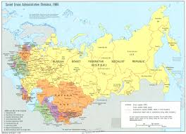 map of ussr russia map map