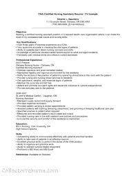 cna resume exle cna resume objective sensational cna resume objective 4 certified