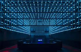 new são paulo club the year has a light installation that reacts to
