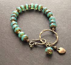 diy glass bead bracelet images 269 best chunky bracelets images bead jewellery jpg