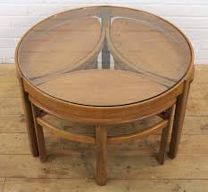 nesting coffee table round coffee tables thippo