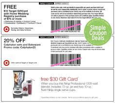 wedding registry gift expired target wedding registry perks coupons simple coupon deals