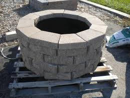 Pallet Fire Pit by Simple Patio Ideas With Steel Fire Ring Inserts And Round Aspen