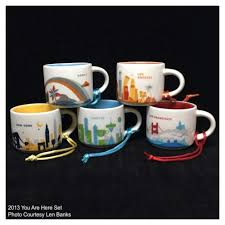 starbucks ornaments you are here mugs starbucks ornament