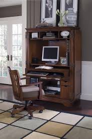 Computer Cabinet Armoire by Workspace U0026 Office Cantata Traditional Computer Armoire With Old