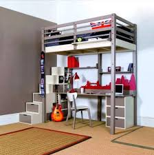 Bunk Bed With Sofa Underneath Bunk Bed With Desk Below Best Loft Bed With Desk And Stairs Best