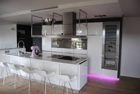 cuisine en verre blanc beau cuisine en verre blanc 2 ligne cr233ationmt600 ligne