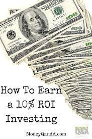 ways to earn a 10 rate of return on investment