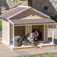 Doghouse For Large Dogs Http Amzn To 1ys744v Antique Large Dog House W Roof Solid Wood