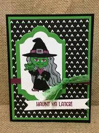 aaa halloween horror nights discounts stampin up haunt ya later stamp set halloween cards pinterest