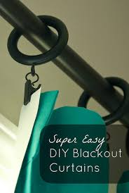 Making Blackout Curtains Living In During No Sew Diy Blackout Curtains