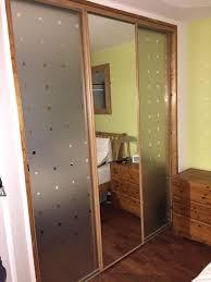 Bedroom Furniture Glasswells Sliding Mirror Dressing Room Storage Wardrobe Screen Doors Bedroom