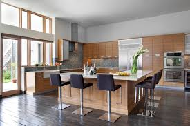 Kitchen With L Shaped Island Williams Loft Contemporary Kitchen Nashville By