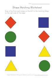 preschool worksheets shapes worksheets