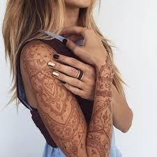 die besten 25 henna tattoo selber machen ideen auf pinterest