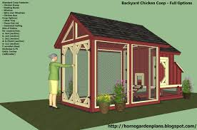 home garden plans s101 chicken coop plans construction