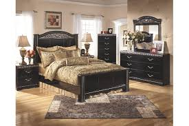Constellations King Poster Bed Ashley Furniture HomeStore - Ashley furniture homestore bedroom sets