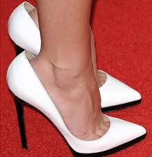 White Comfortable Heels Question From A Woman With Narrow Feet She Has Trouble Buying