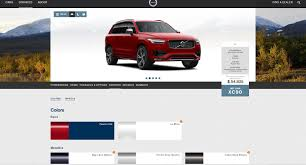 volvo website build the 2016 volvo xc90 of your dreams via configurator