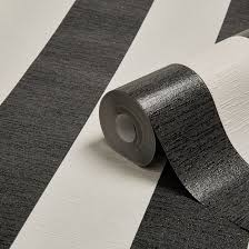 Black And White Striped Wallpaper by Colours Shimmer Black U0026 White Stripe Glitter Effect Wallpaper
