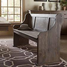 Rustic Distre Rustic Wood Bench Ebay