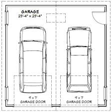 double car garage typical double car garage door size of within two inspirations 18