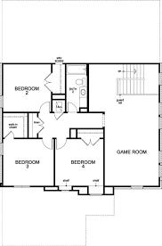 Georgetown Floor Plan Plan A 2797 U2013 New Home Floor Plan In Creekside At Georgetown