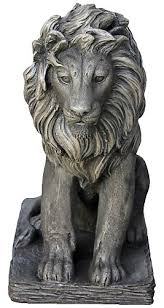 lion statue angelo décor lion statue the home depot canada