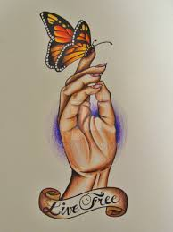 live free u0027 tattoo flash by mgcogan on deviantart