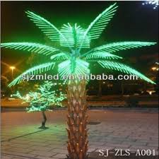 led palm tree light artificial lighted palm tree lighted palm