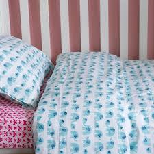 turquoise elephant cotbed duvet set lulu u0026 nat toddler bedding