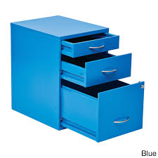 Teal File Cabinet Locking Storage Drawer And Silver Handles File Cabinet Free