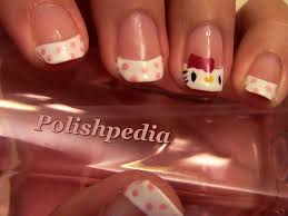hello kitty nail art polishpedia nail art nail guide