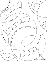 geometric coloring pages doodle art alley