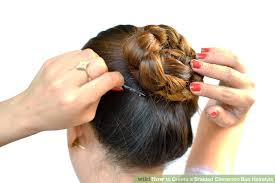 hair buns for hair 3 ways to create a braided cinnamon bun hairstyle wikihow