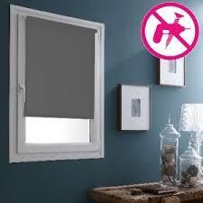 store pour fenetre cuisine store enrouleur occultant gris 62cm adaptable pour des fenêtres