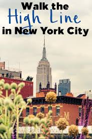 Walking Map Of New York City by Walk The High Line In New York City With Kids Hilton Mom Voyage