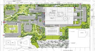 campbell river hospital siteplan north island hospital project