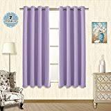 Purple Curtains For Living Room Amazon Com Purple Window Treatments Home Décor Home U0026 Kitchen