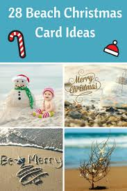 christmas on the beach 28 crazy cute christmas photo card ideas