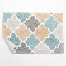 multi color bathroom rugs kohls bath mats splash home softee bath