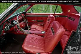 Steering Wheel Upholstery Vinyl Interior Upholstery Red Standard Decor Complete Kit