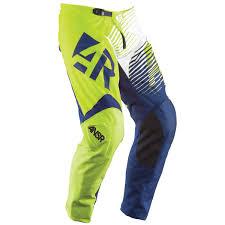 answer motocross gear answer ansr syncron lime blue kids pants
