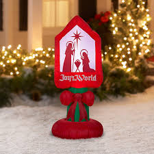 Outdoor Plastic Light Up Nativity Scene by Amazon Com Outdoor Holiday Decorations Patio Lawn U0026 Garden